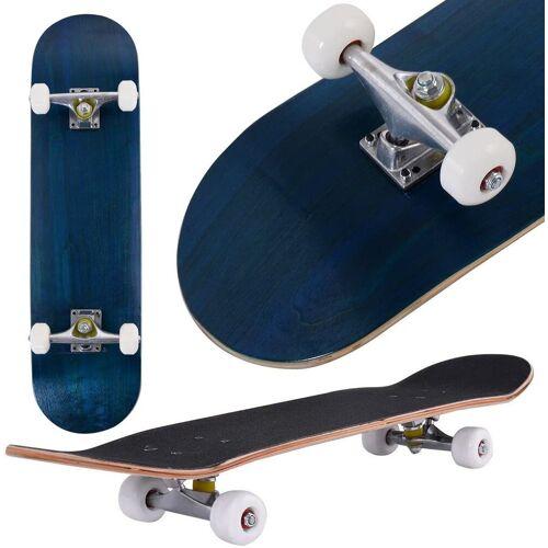 COSTWAY Skateboard »Skateboard«, Blau