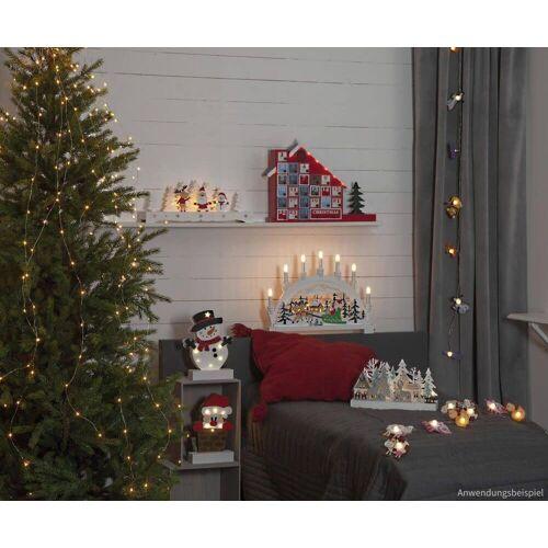 matches21 HOME & HOBBY LED-Lichterkette »Weihnachtsleuchter Lampen Weihnachten mit je 6 LEDs«