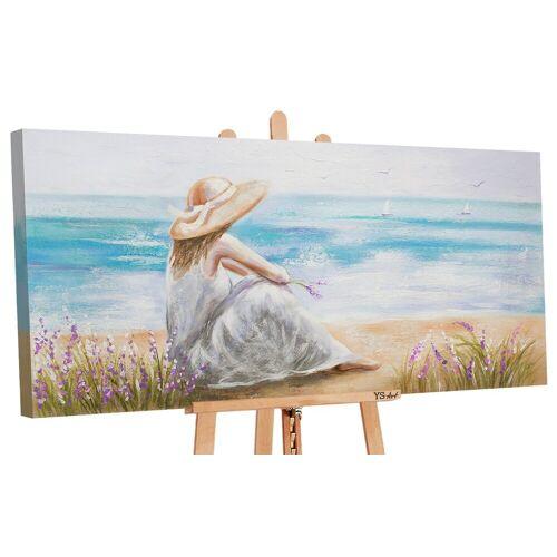 ART YS-Art Gemälde »Wunderschöner Morgen II 187«
