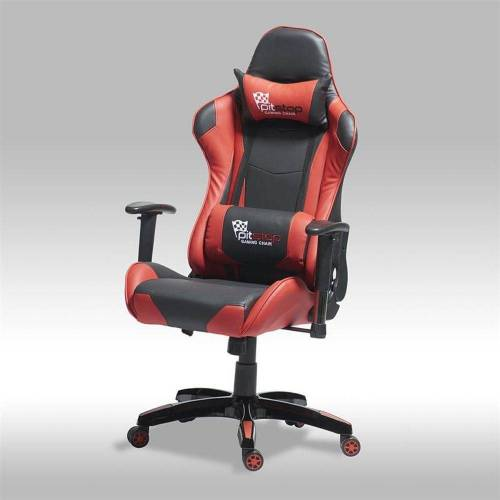 ebuy24 Gaming Chair »Gamer Stuhl Wild und Bürostuhl in roten und schwar«