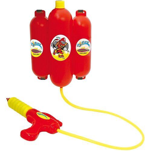 Jamara Wasserpistole »Mc Fizz Wasserspritze mit Tank Rucksack 2,5L«