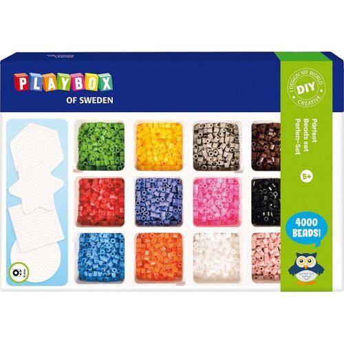 Playbox Bügelperlen »Bügelperlen-Set, 4.000 Perlen«