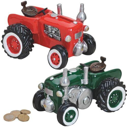 matches21 HOME & HOBBY Spardose »Spardose Traktor / Trecker / Schlepper Sparbüchse«