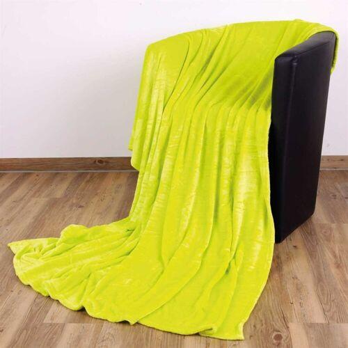 """Bestlivings Wohndecke, , Kuscheldecke """"Celina"""" - Grün - 60x80 cm (BxL) - hochwertige Flauschige Kuschel Decke in vielen Farben und Größen, Grün"""