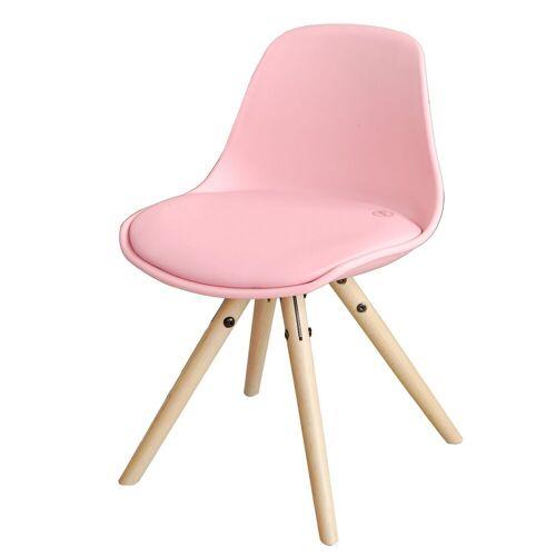 SoBuy Stuhl »FST46« Kinderstuhl Stühlchen Sitzhocker Sitzhöhe 35cm, pink