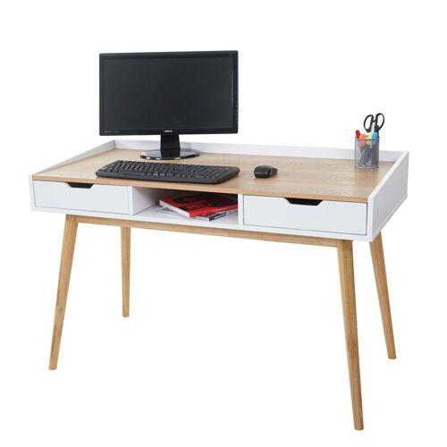 MCW Schreibtisch »-A70«, Inklusive Ablagefach und 2 Schubladen
