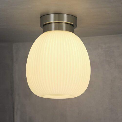 ZMH Deckenleuchte »Glas Weiße Deckenlampe Flur E27 1 Flammig«