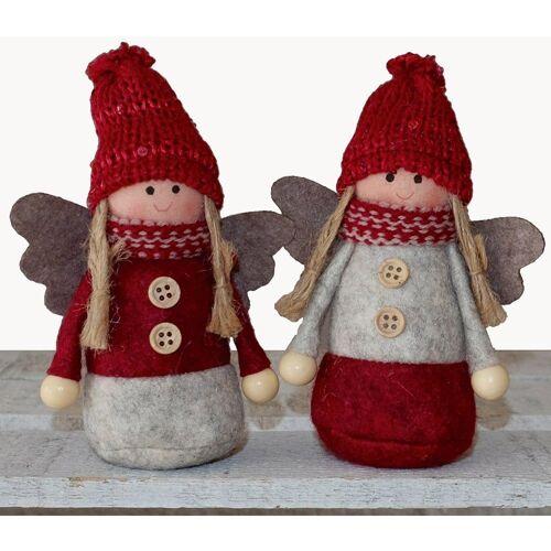 matches21 HOME & HOBBY Dekofigur »Engel Weihnachtsengel Dekofiguren Weihnachten 2er« (2 Stück)