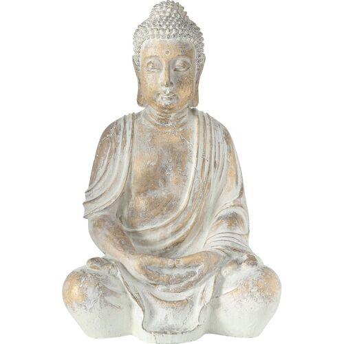 "BOLTZE Dekofigur »Dekofigur ""Buddha Flyn"" 44 x 35 x 67 cm«"