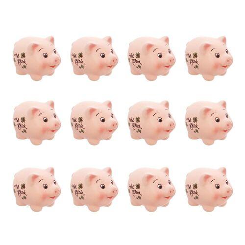 HomeLiving Geschenkpapier »Glücksschweinchen«, Glücksbringer