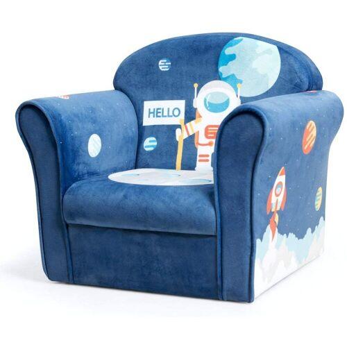 COSTWAY Sessel »Kindermöbel Schaumstoff«, Blau