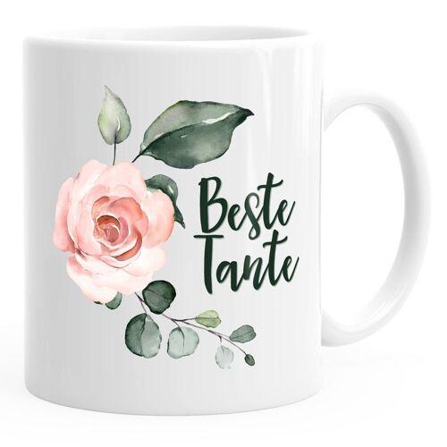 MoonWorks Tasse »Kaffee-Tasse Beste Tante Geschenk Geschenk-Tasse ®«