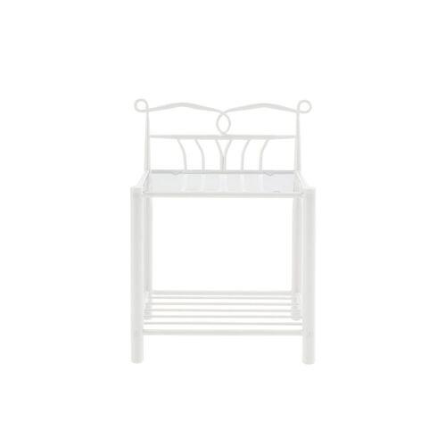 ebuy24 Nachttisch »Linax Nachttisch weiss.«