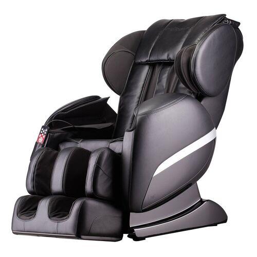 HOME DELUXE Massagesessel »Siesta V2« (1-tlg), Ganzkörpermassage, schwarz   schwarz