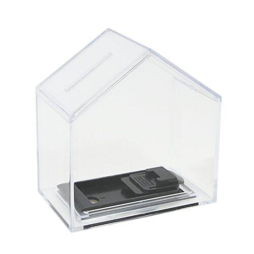 HMF Spardose »Spardose 47720«, Acryl Spendenbox, 11 x 10 x 6 cm