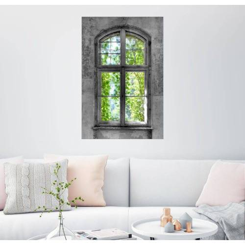 Posterlounge Wandbild, Fenster Hoffnung