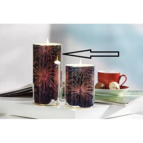 JOKA international LED-Kerze »LED Kerze 3D Feuerwerk 16745« (1-tlg)