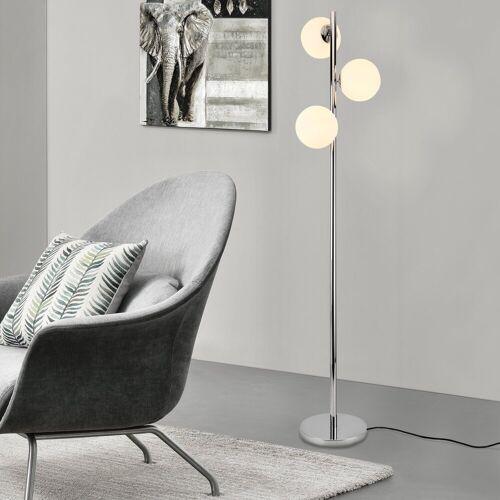 lux.pro Stehlampe, Stylische Stehleuchte »Gent« - 3-flammig