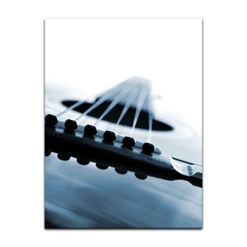 Bilderdepot24 Leinwandbild, Leinwandbild - Gitarrenkorpus