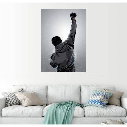 Posterlounge Wandbild, Premium-Poster Rocky