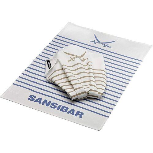 Rösle Geschirrtuch »Geschirrhandtuch Sansibar 2er Pack«
