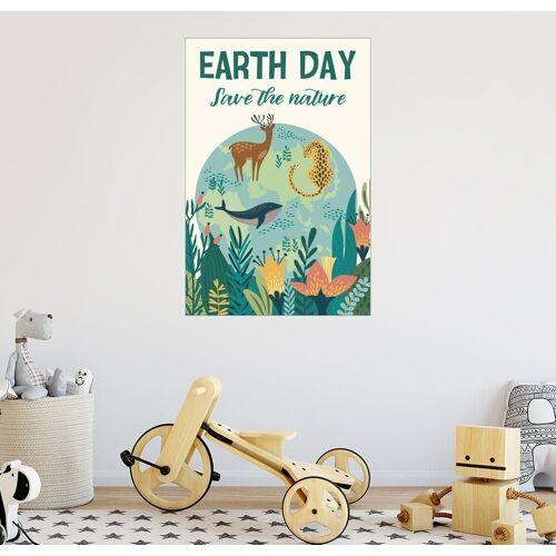 Posterlounge Wandbild, Earth Day