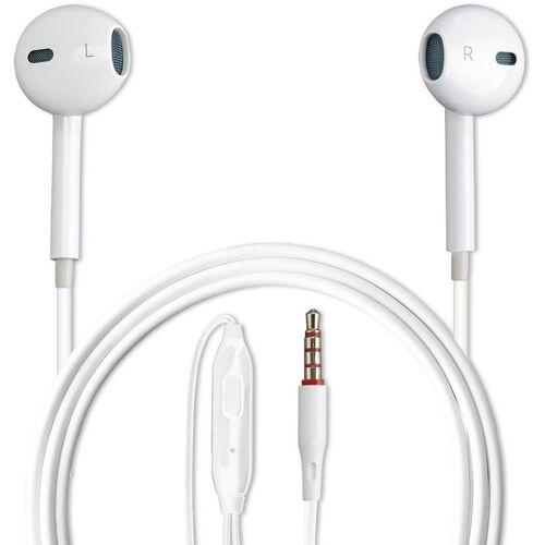 4smarts Kopfhörer »In-Ear Stereo Headset Melody Lite 3,5mm Audiokabel«, Weiß