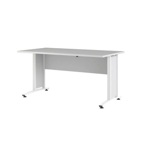 ebuy24 Schreibtisch »Prisme Schreibtisch Breite 150 cm weiss.«