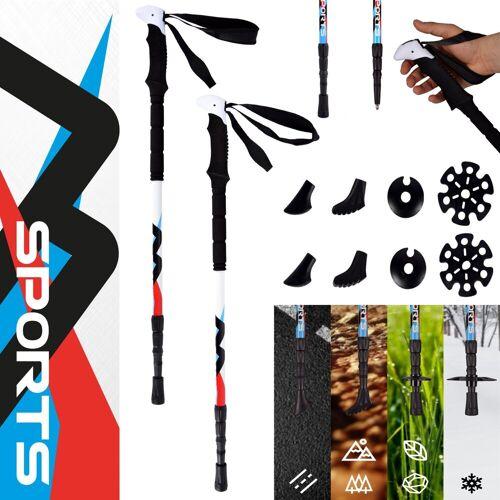 MSports® Trekking-Stöcke, Trekking Stöcke