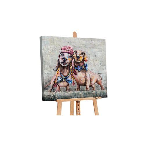 ART YS-Art Gemälde »Freundschaft PS066«
