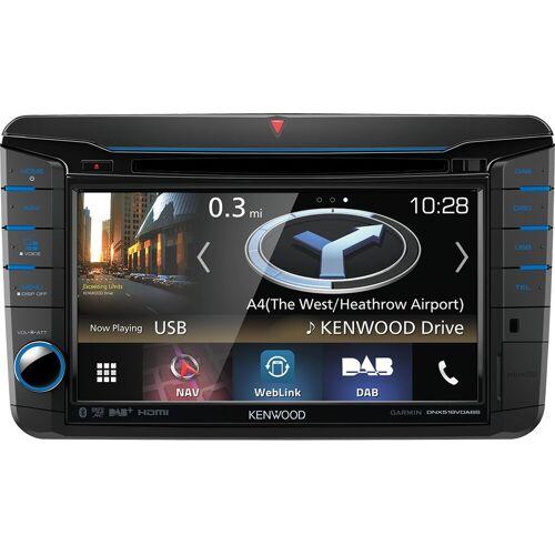 Kenwood Audio-System (DNX518VDABS - VW Skoda Seat 2DIN Navigation Multimedia Autoradio DAB)