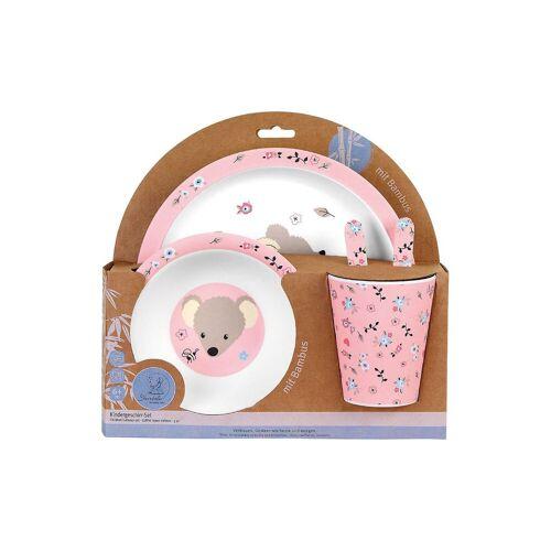 Sterntaler® Kindergeschirr-Set »Bambus-Geschirr-Set Mabel Kindergeschirrsets«