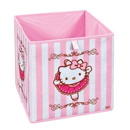 ebuy24 Aufbewahrungsbox »HKB Aufbewahrungsbox pink, weiss.«
