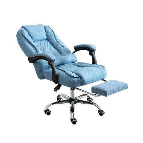 HTI-Line Schreibtischstuhl »Chefsessel Jackson«, Blau