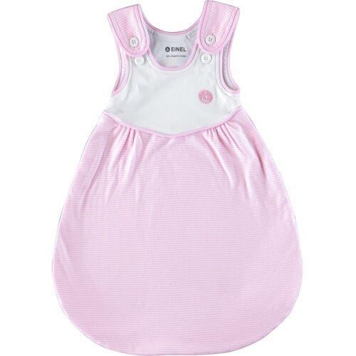 Einel Babyschlafsack »Außenschlafsack Pumi, Gr. 80/86, Rose Melangestr«, rosa-kombi