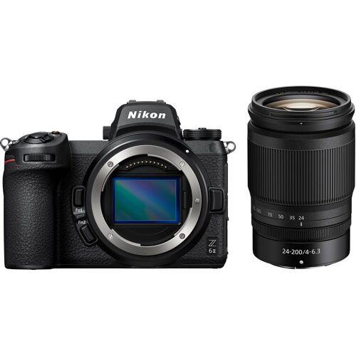 Nikon »Z 6II KIT 24-200 mm 1:4.0-6.3 VR« Systemkamera (NIKKOR Z 24–200 mm 1:4–6,3 VR, 24,5 MP, WLAN (Wi-Fi), Bluetooth)