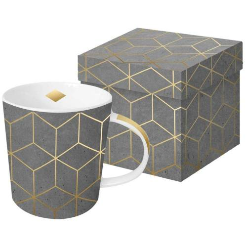 PPD Tasse »ZicZac Cement Gold«