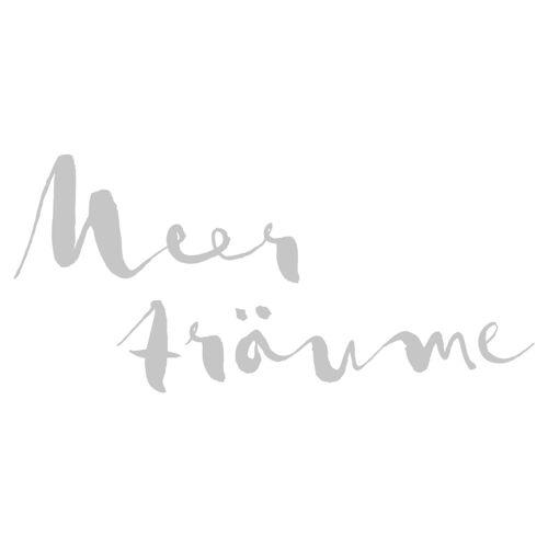 dekodino Wandtattoo »Meerträume« (1 Stück), 04 - grey