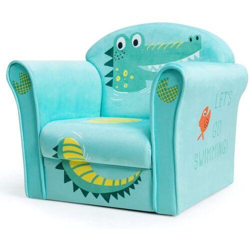COSTWAY Sessel »Kindermöbel Schaumstoff«, Grün