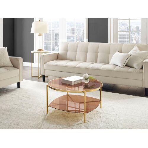 Leonique Couchtisch »Robina«, Elegantes Design, Tischplatten aus Glas
