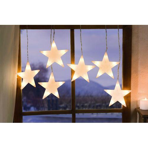 """HomeLiving LED Dekoobjekt »LED-Lichterkette """"Sternenhimmel"""", groß Weihnachten Xmas Deko«"""