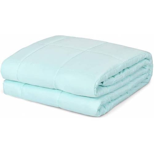 COSTWAY Gewichtsdecke, »Schwere Decke kühl«, , 3,2 kg, 104 x 152 cm, 3,2 kg