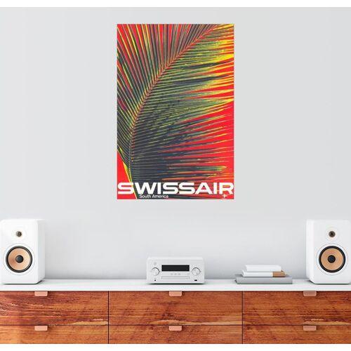 Posterlounge Wandbild, Swissair