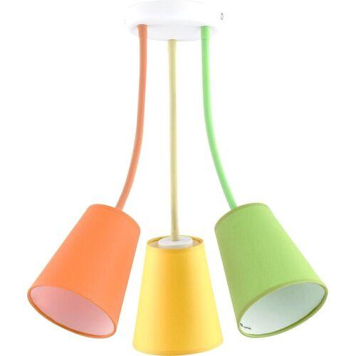 Licht-Erlebnisse Deckenleuchte »BANTA Deckenleuchte Bunt flexibel Kinderleuchte Kinderzimmer«
