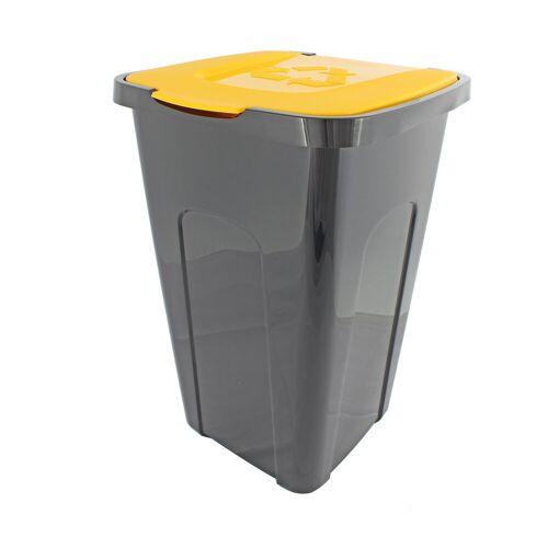 Centi Mülltrennsystem »Abfalltonne«, Gelb