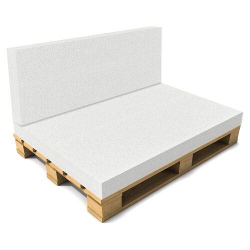 neu.haus Sitzkissen, »Valencia« Rückenkissen Schaumstoff ideal für Palettenkissen in diversen Größen