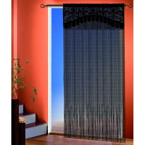 Fadenvorhang »Adele«, Stangendurchzug (1 Stück), Fadenvorhang mit Bordüre
