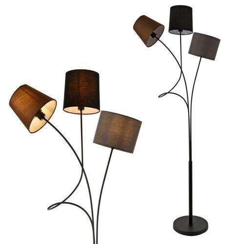 lux.pro Stehlampe, »Twist« Moderne Stehlampe Höhe 146, mit verstellbaren Lampenschirmen