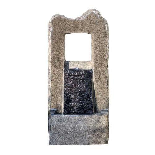 Kiom Dekoobjekt »Gartenbrunnen FoMuro Led 89 cm«