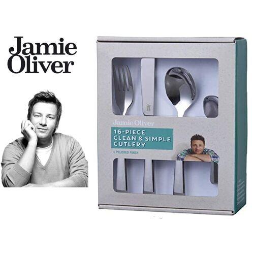 JAMIE OLIVER Besteck-Set »556895«, hochwertigem Edelstahl
